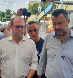Bordoni con Salvini a Porta portese: Si deve tornare ad investire sulla rete mercatale della città