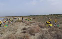 Coccia di Morto, con Puliamo il mondo pulizia straordinaria delle dune