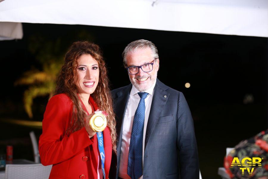 Presidente Claudio Miglio e Palmisano
