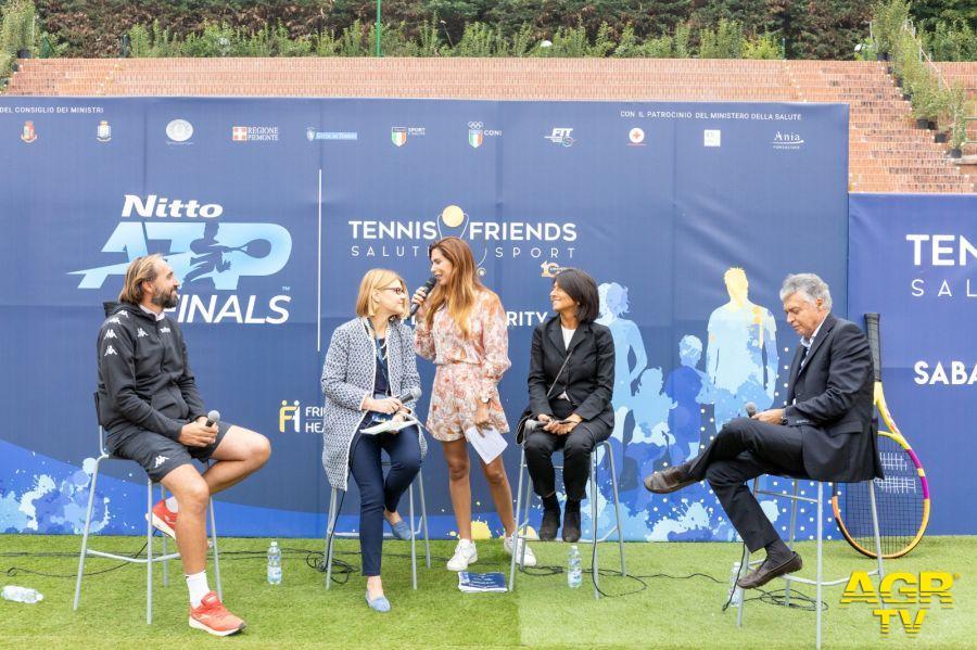 Grazie a Tennis & Friends Salute e Sport a Torino a vinto la  prevenzione.