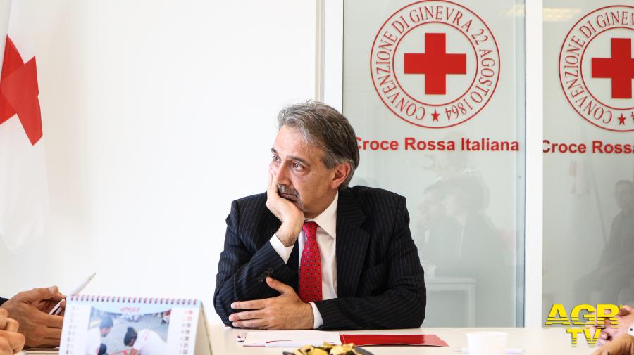 Francesco Rocca, Presidente della Croce Rossa Italiana