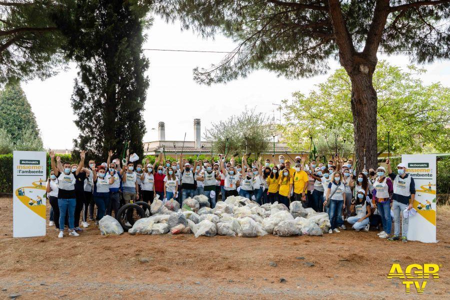 Le giornate insieme per l'ambiente a Marino