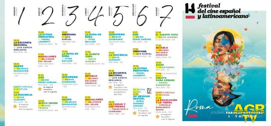 festival cinema locandina e programma