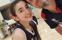 Sara e papà Paolo Vargetto