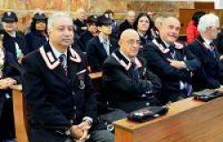 associazione carabinieri in primo piano il presidente Daniele Libertini