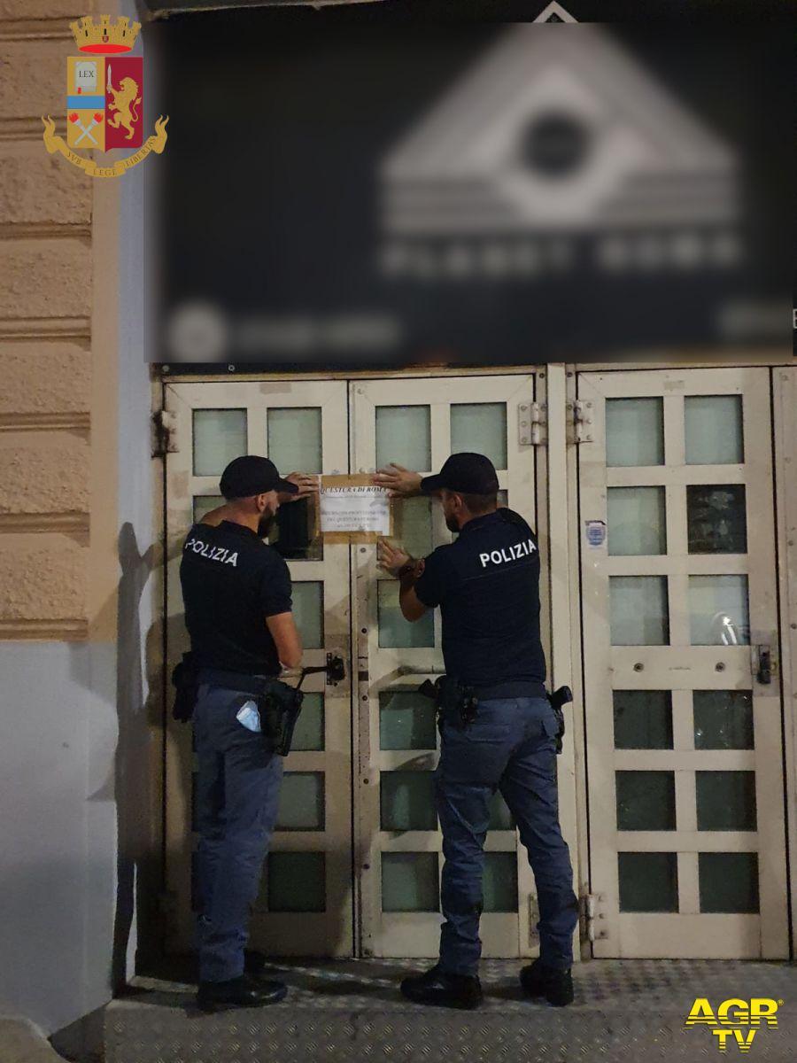 Controlli della Polizia di Stato ad Esquilino e Colombo