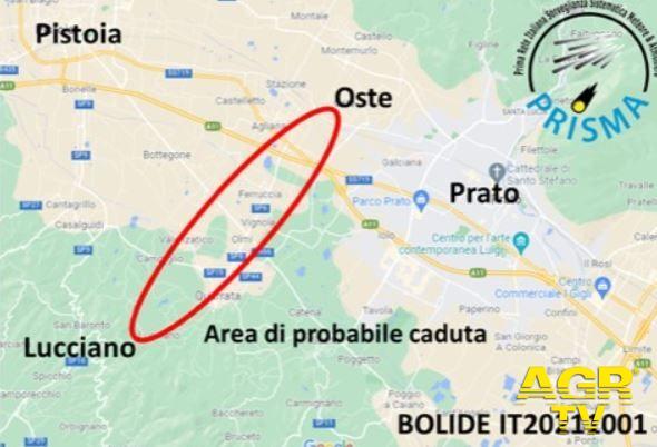 Redazione di Met Una piccola meteorite è caduta fra Prato e Pistoia