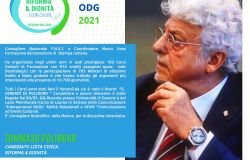 Elezioni Ordine dei Giornalisti:Tommaso Polidoro in corsa per il Lazio
