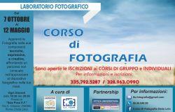 Laboratorio Fotografico dal 7 ottobre 2021 al 12 maggio 2022