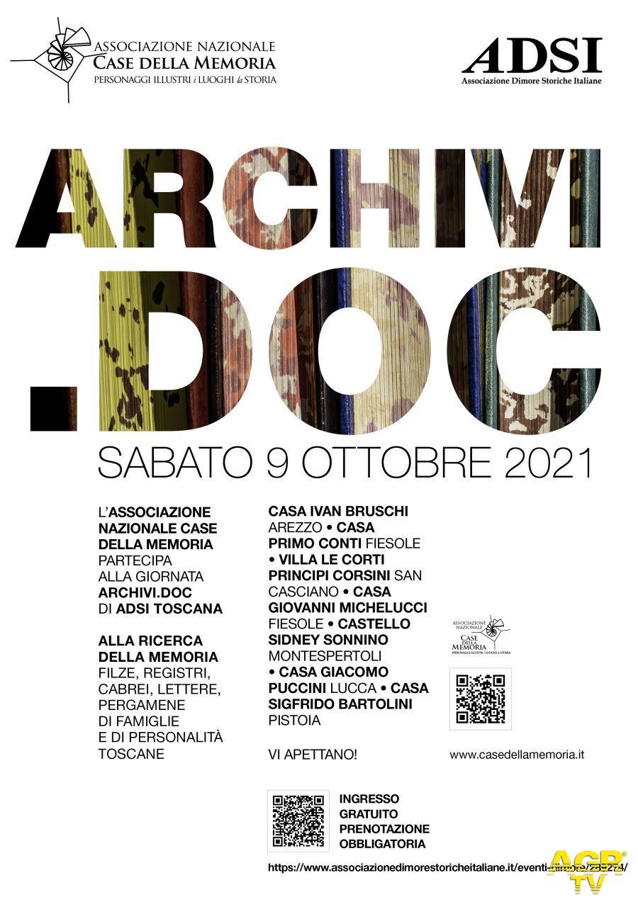 Redazione di Met Gli archivi privati della Toscana aprono le porte. Anche le Case della Memoria partecipano all'iniziativa promossa da Adsi regionale