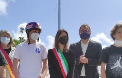 Paolo Ferrara con la Raggi