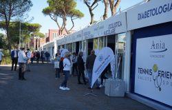 Il Foro Italico di Roma celebra i dieci anni di prevenzione di TENNIS & FRIENDS