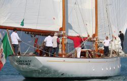 Capitan Lipari 1947 foto maccione raduno vele d'epoca