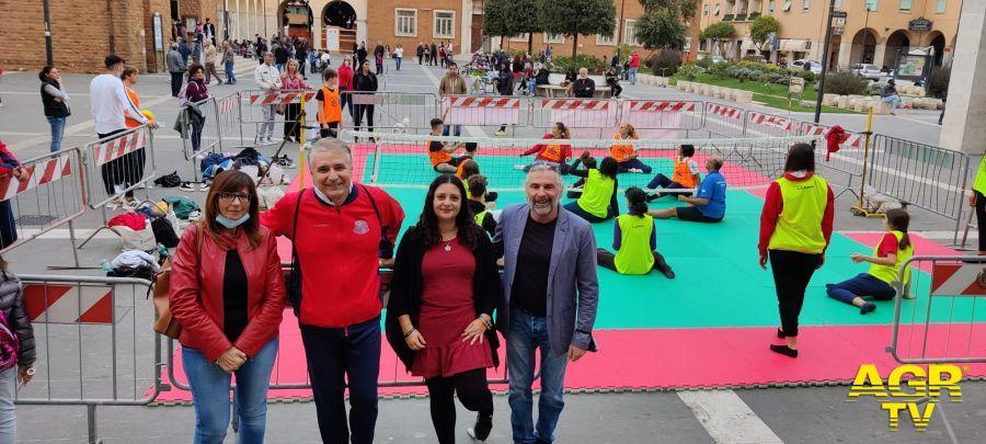 Pomezia, l'evento di sitting volley per una pallavolo di inclusione e senza barriere