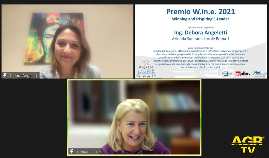 DIGITAL HEALTH SUMMIT 2021, Premio W.In.e 2021 a Debora Angeletti