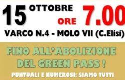 I lavoratori portuali di Trieste confermano lo sciopero del 15 ottobre
