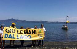 Disastro ambientale per l'abbassamento del livello del lago di Bracciano, Legambiente parte civile al processo