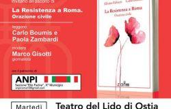 """Al teatro del Lido, con il patrocinio dell'ANPI X Municipio, la presentazione del libro La Resistenza a Roma Orazione civile"""""""