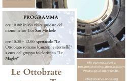 Ostia, Tor San Michele protagonista delle ottobrate romane