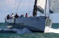Vela La cinquanta yacht in regata