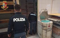 Casilino, due arresti per spaccio, chiesta la chiusura di due locali per topi ed insetti
