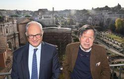 Roma, il sindaco Roberto Gualtieri incontra in Campidoglio il Nobel Giorgio Parisi