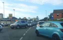Disagi al traffico per l'aeroporto