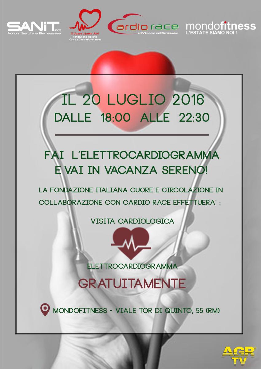 Roma Prevenzione Cardiovascolare A Mondofitness Sanita Agr