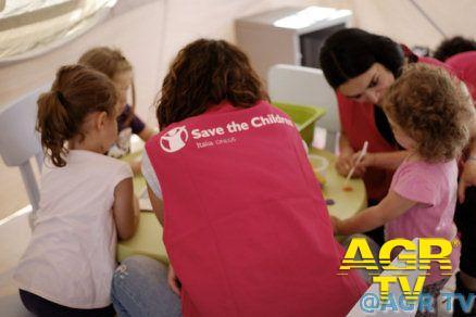 Save the Children, avviato ad Amatrice il primo Spazio a Misura di Bambino