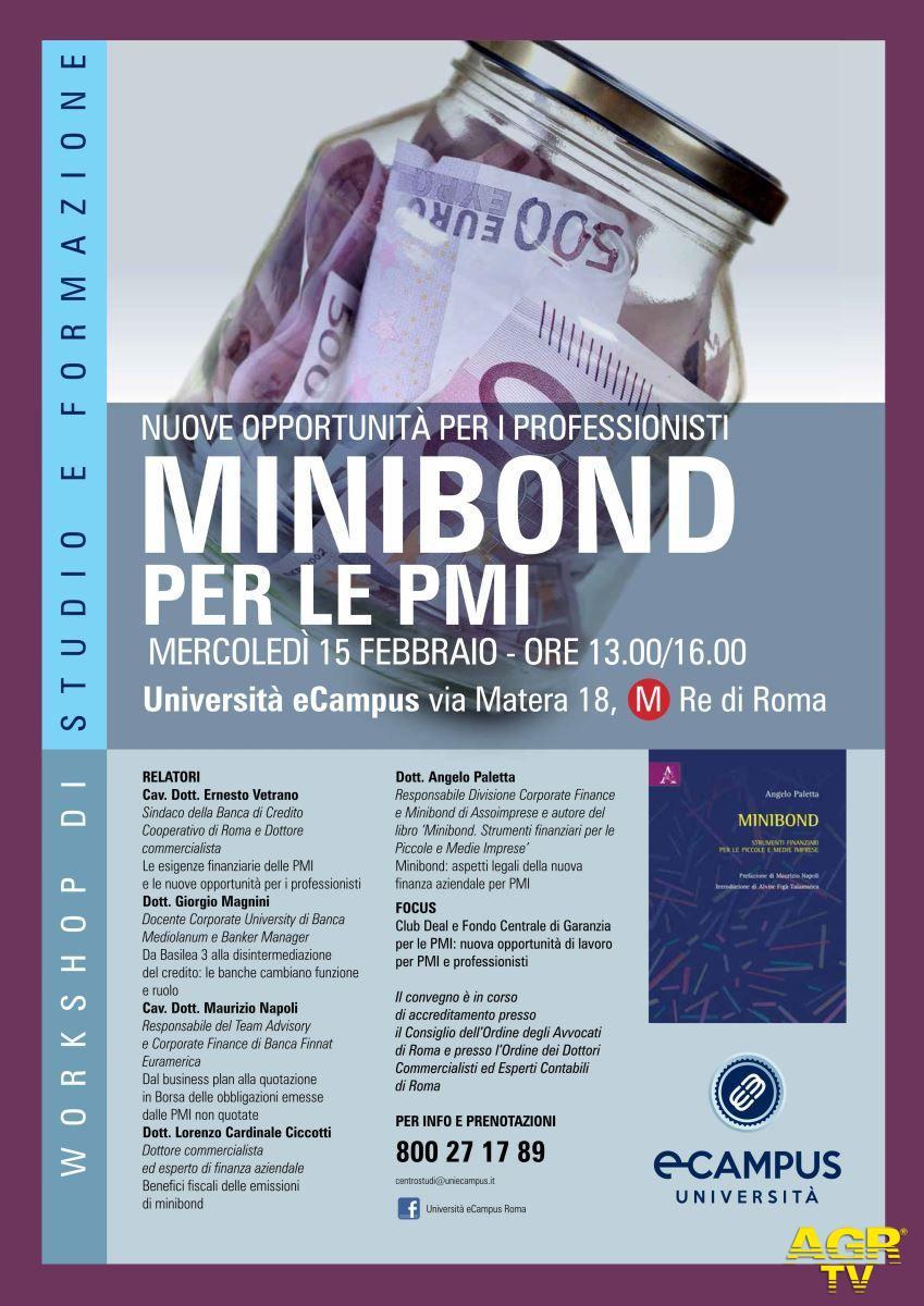 Minibond, nuova opportunità per PMI e professionisti