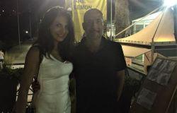 Gianmarco Tognazzi e Nadia Bengali a Mondofitness