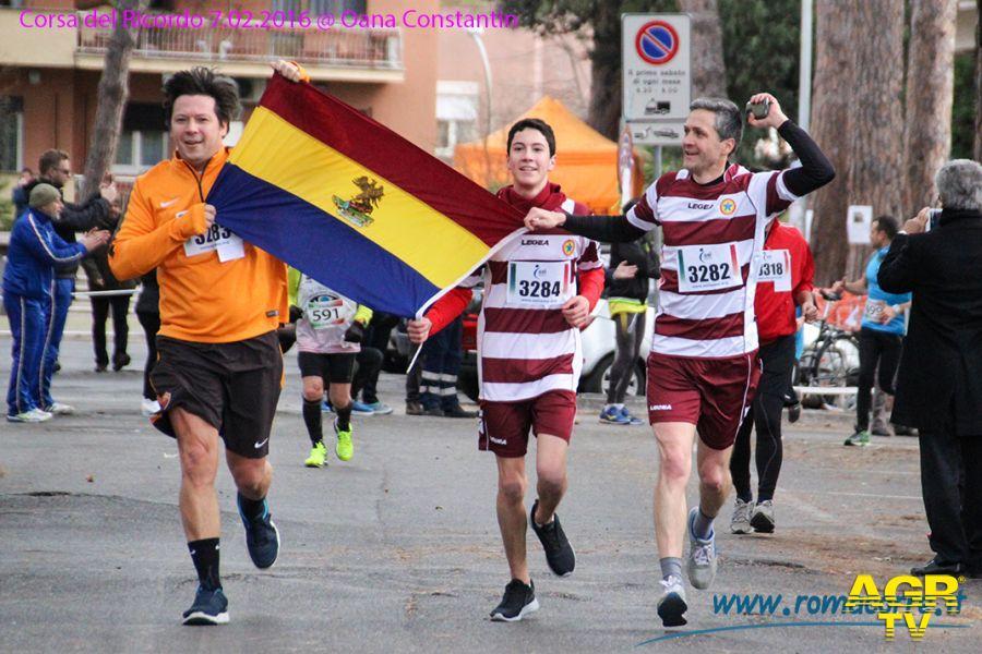 La corsa del ricordo a Roma il 4 febbraio