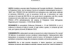 Comune di Frascati: Chiusura plessi scolastici per i giorni 27 e 28 Febbraio 2018