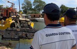 Fiumicino, 150 mila euro dalla Regione Lazio per la rimozione dei relitti lungo il corso del Tevere