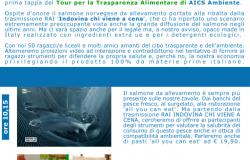 AICS, al via il tour nazionale per la trasparenza alimentare